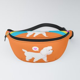 My sweet poodle Fanny Pack