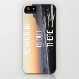 Adventure iPhone Case