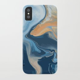 Moving oceans iPhone Case