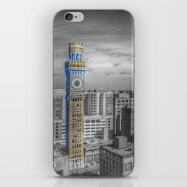 Baltimore Landscape - Bromo Seltzer Arts Tower iPhone Skin
