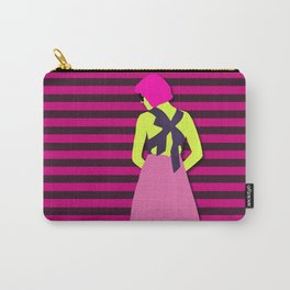 cold shoulder Carry-All Pouch