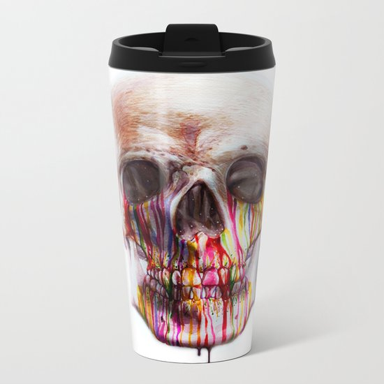 True Blood B Metal Travel Mug