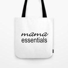Mama Essentials Black & White Tote Bag