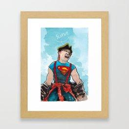 Sloth! Framed Art Print