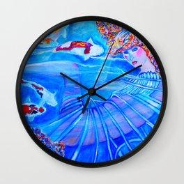 With Every Breath #society6 #decor #buyart Wall Clock