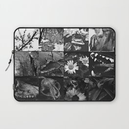 Greyscale collage Laptop Sleeve
