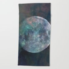Solstice Moon Beach Towel