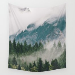 Vancouver Fog Wall Tapestry