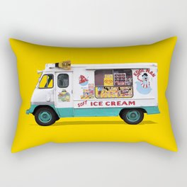 Kool Man Ice Cream Truck Rectangular Pillow