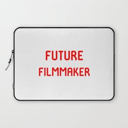 Future Filmmaker Red Film School Student Laptop Sleeve