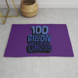 100 Billion Ghosts Rug