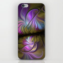 Come Together, Abstract Fractal Art iPhone Skin