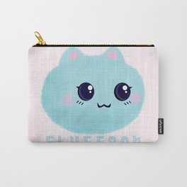 Introducing Fluffoon The Cutest Fluff In The World Carry-All Pouch