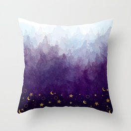 A Sea of Stars Throw Pillow