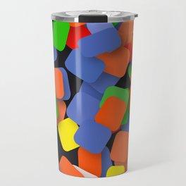 wild color pieces Travel Mug