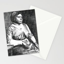Mary Jane McLeod Bethune - SketchArt - American Educator Society6 Online Artworks 456 Stationery Cards