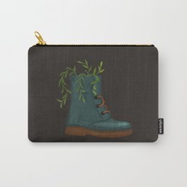 Blooming Boots Carry-All Pouch