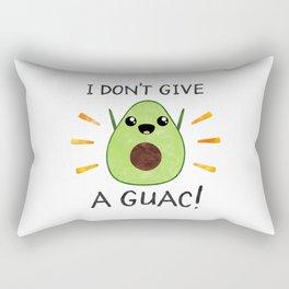 I don't give a guac! Rectangular Pillow