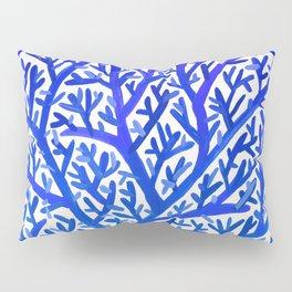 Fan Coral – Blue Ombré Pillow Sham