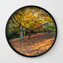 An English Autumn Wall Clock