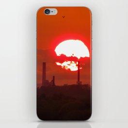 Fiery May Sunset iPhone Skin