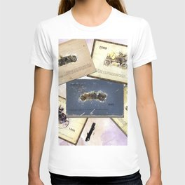 retro cars T-shirt
