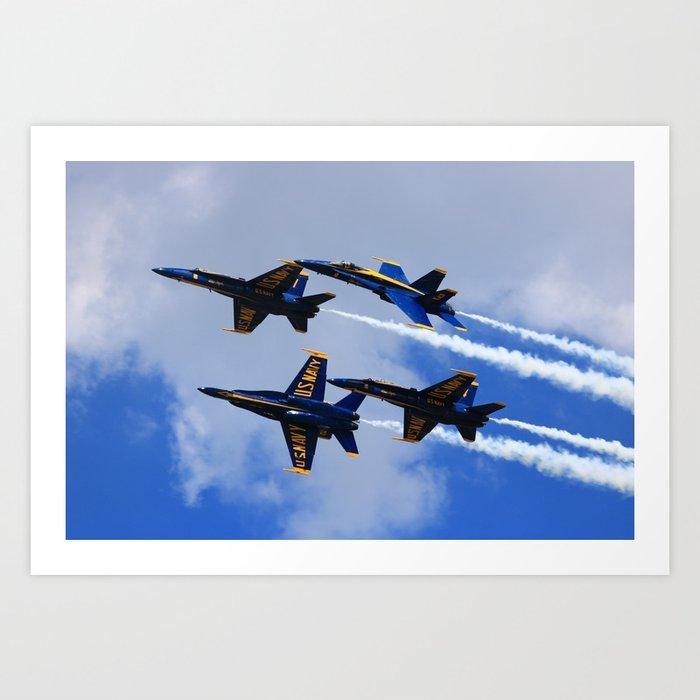 US Navy Blue Angels Kunstdrucke