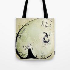 Cat Romance Tote Bag