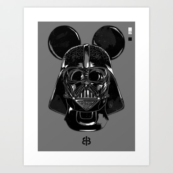 Pepper — Vader Mouse Art Print