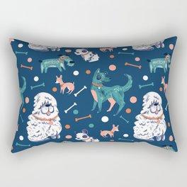 Doggie Spots Rectangular Pillow