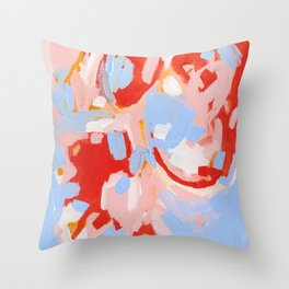 Color Study No. 8 Throw Pillow