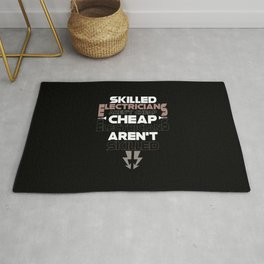 Skilled Electricians Aren't Cheap Rug
