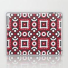 Red and black pattern Laptop & iPad Skin