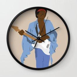 Jimi H. #1 Wall Clock