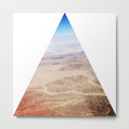 Pyramids of Palm Springs Metal Print
