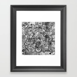 Mandala 4 Framed Art Print