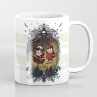 gravity falls Mugs featuring Gravity Falls by Vaahlkult
