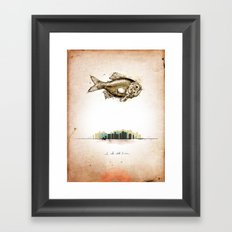 First Print... Framed Art Print