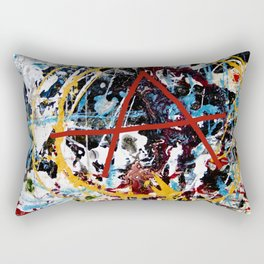 Mess Rectangular Pillow
