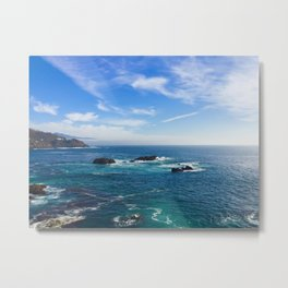 Baja California blue Metal Print