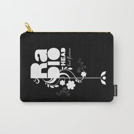 Radiohead song - Last flowers illustration white Carry-All Pouch
