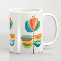 whimsical Mugs featuring Whimsical Bloom by Picomodi