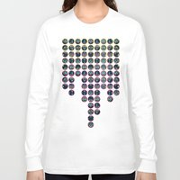 damask Long Sleeve T-shirts featuring Doodle Damask  by micklyn