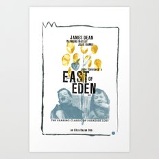 EAST OF EDEN// Art Print
