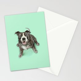 Hug a Staffie Stationery Cards