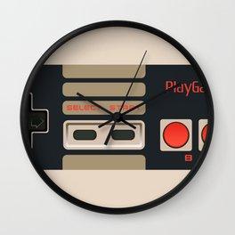 Retro Gamepad Wall Clock