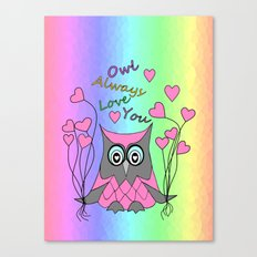 Love You Always Canvas Print