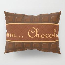 Mmm Chocolate Pillow Sham