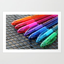 Modern Rainbow 2 Art Print