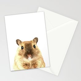 Hamster Portrait Stationery Cards